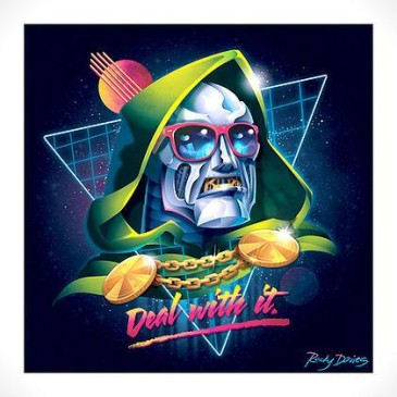 80S VILLAIN VINYL COVERS
