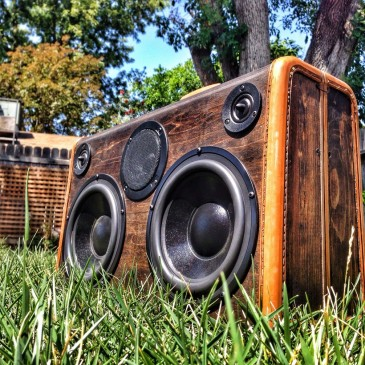 Boomcase-Repurposing old Suitcases into Useable Boomboxes