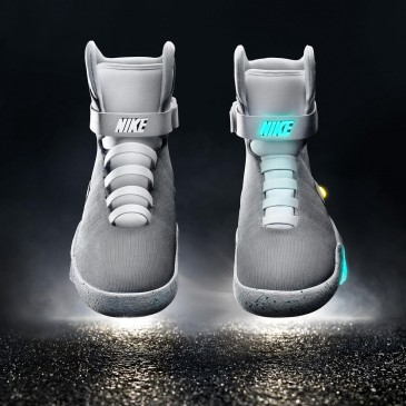 The Future Has Arrived! Nike Mags with the Power Locking Lace System are Here!