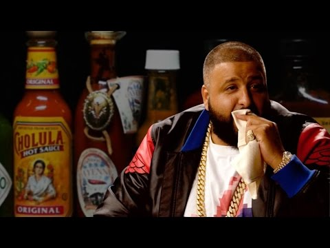 Dj Khaled try's the Hot Wings Challenge!!